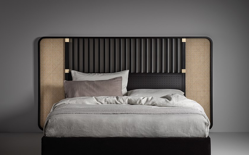 High Headboard For Double Bed Ottow By Wiener Gtv Design