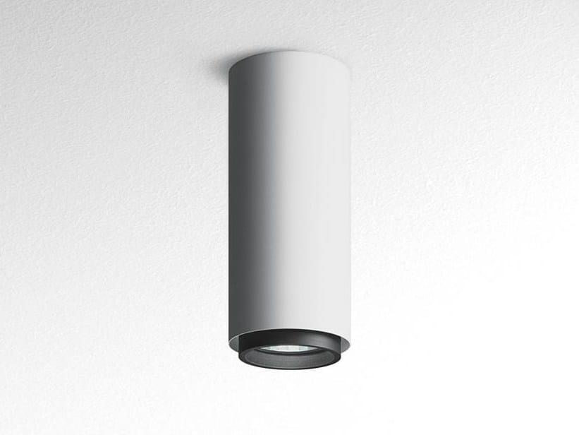 Direct light aluminium ceiling lamp OUREA   Ceiling lamp by Artemide