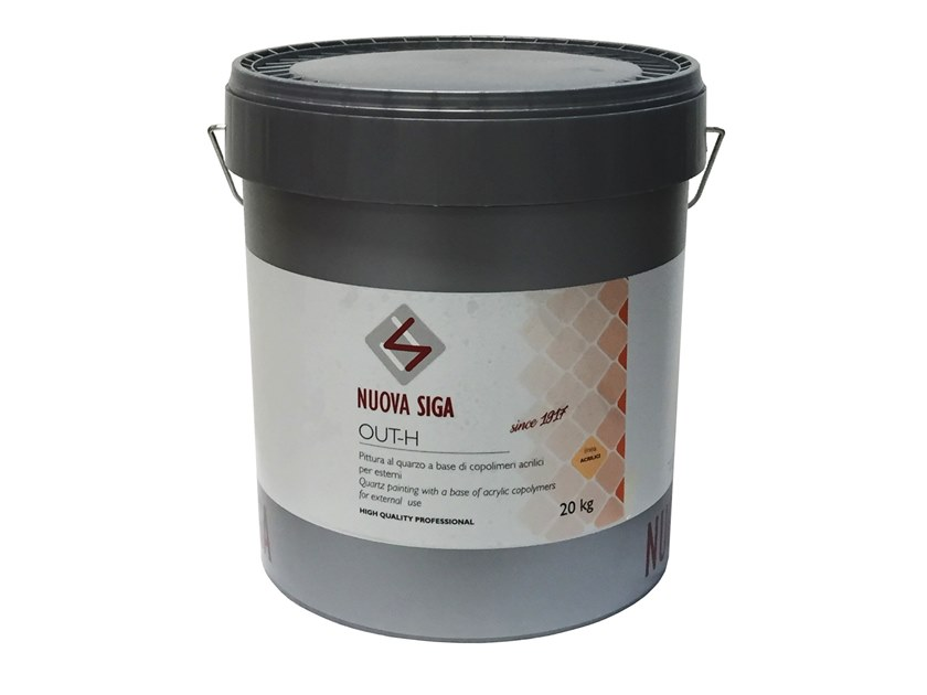Anti-corrosive and anti-rust paint / exterior finish OUT-H by NUOVA SIGA