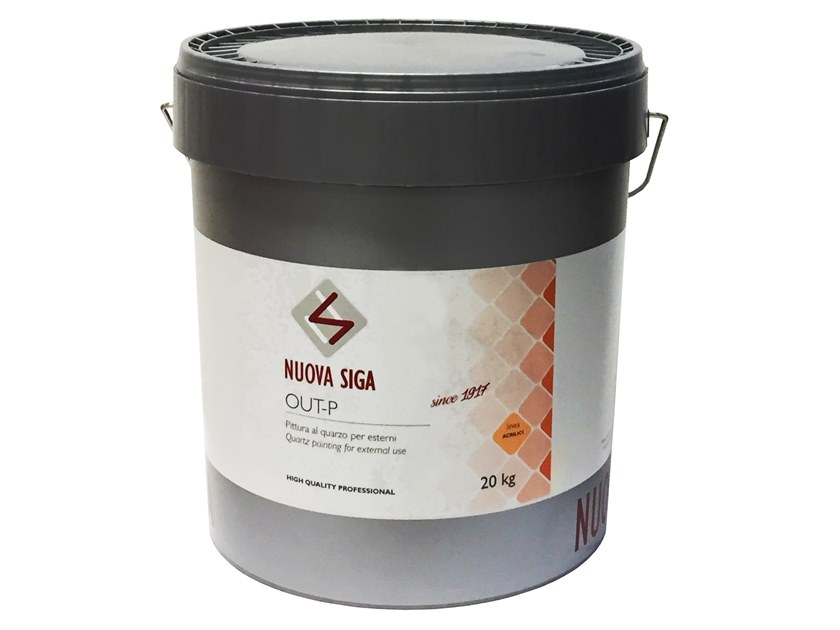 Quartz paint OUT-P by NUOVA SIGA
