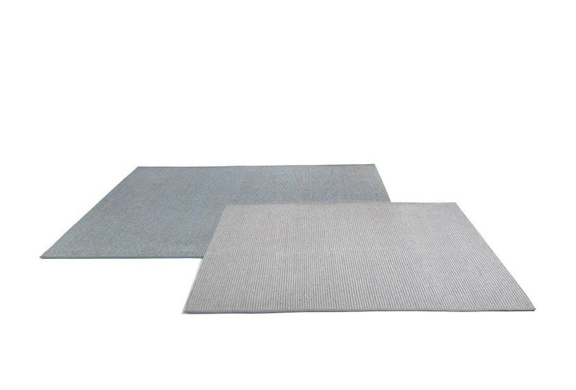 Rectangular fabric outdoor rugs STEPS by MANUTTI