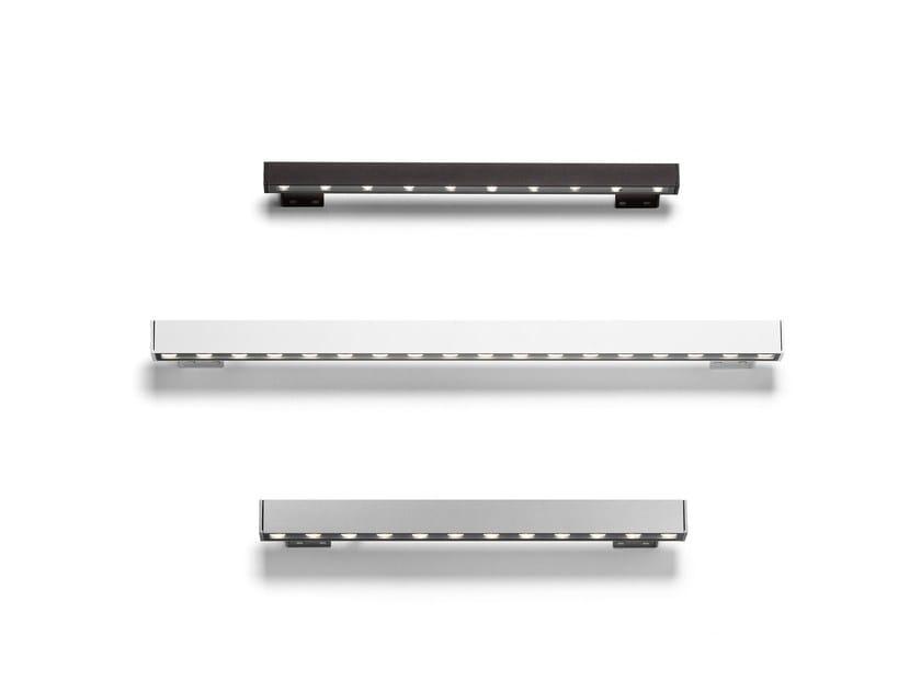 LED aluminium wall lamp OUTGRAZE by FLOS