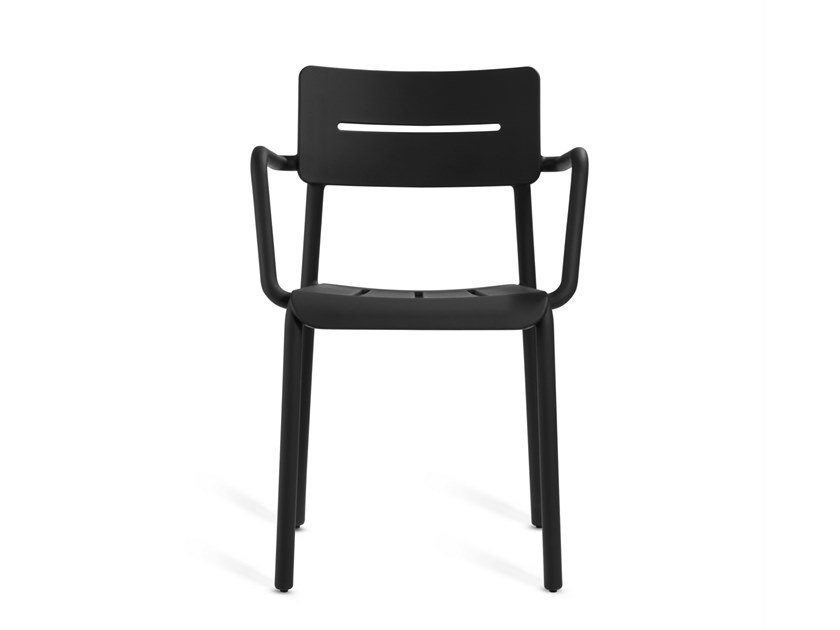 Garden chair with armrests OUTO | Chair with armrests by TOOU