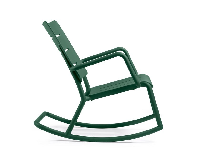 Rocking garden easy chair OUTO | Rocking easy chair by TOOU