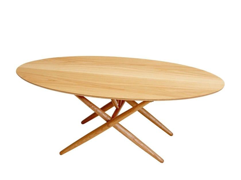 Oval coffee table OVALETTE by Artek