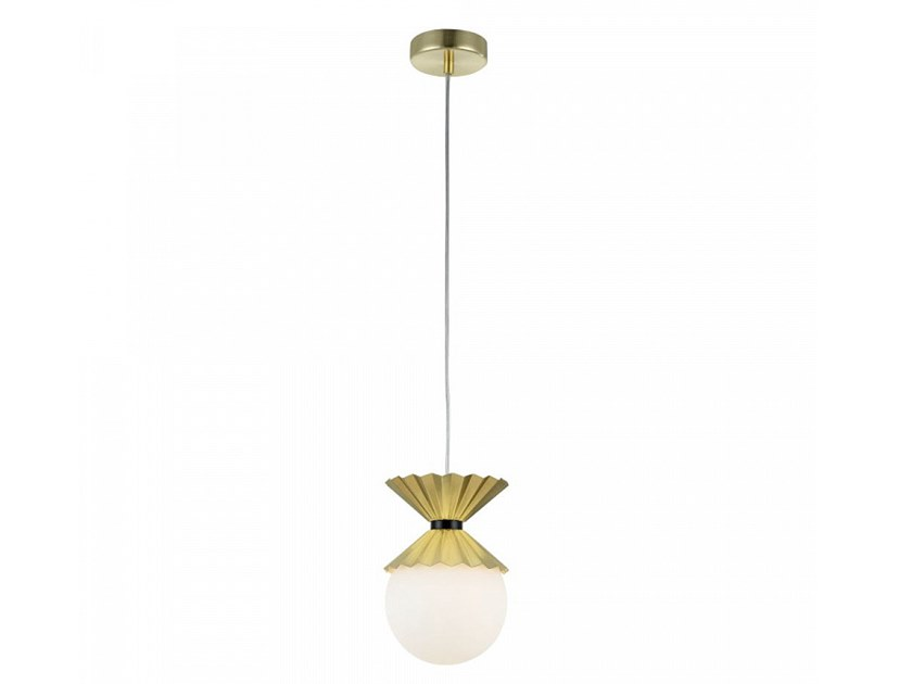 Glass pendant lamp OVATION by MAYTONI