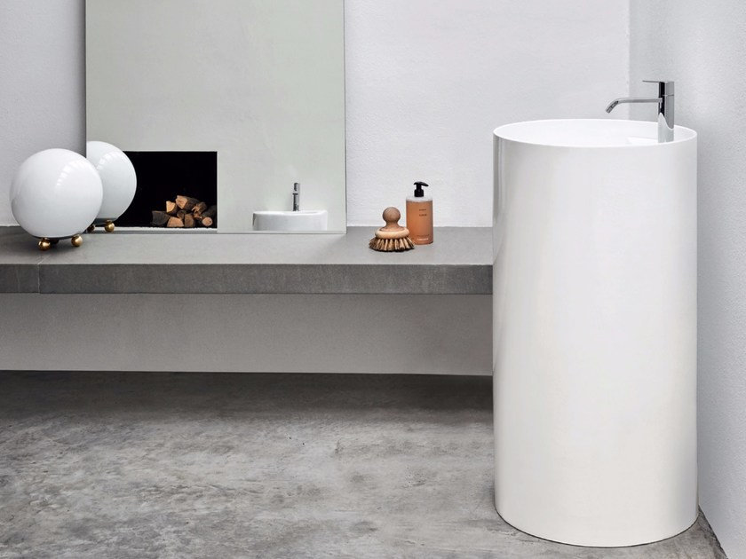 OVVIO | Lavabo freestanding By Nic Design