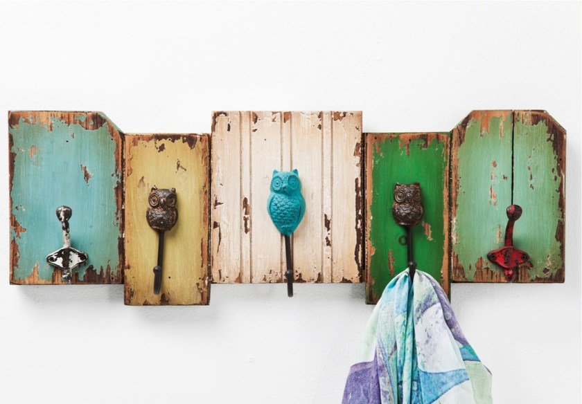 Wall-mounted MDF coat rack OWL by KARE-DESIGN