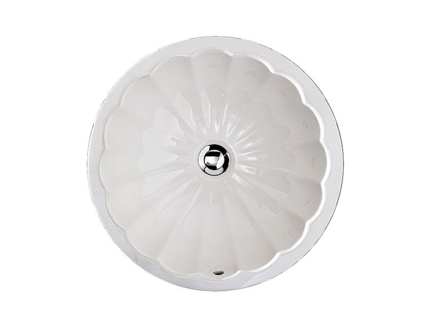 Undermount round washbasin OXFORD by Devon&Devon