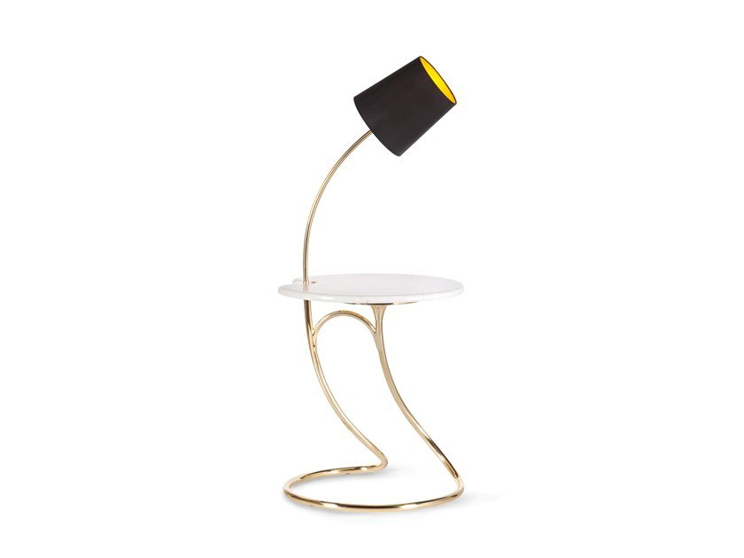 Floor lamp / coffee table OXFORD by Green Apple