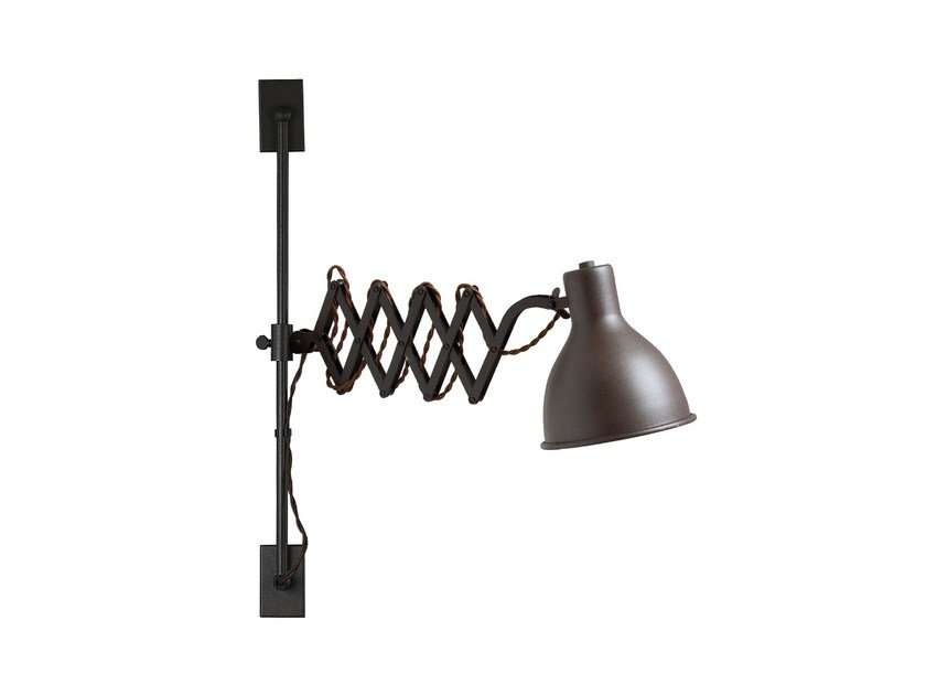 Adjustable wall lamp with swing arm OXFORD LIFT by luxcambra