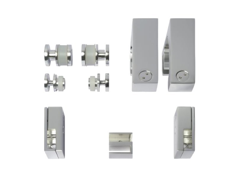 Metal Shower door kit OXIDAL 490 by Nuova Oxidal
