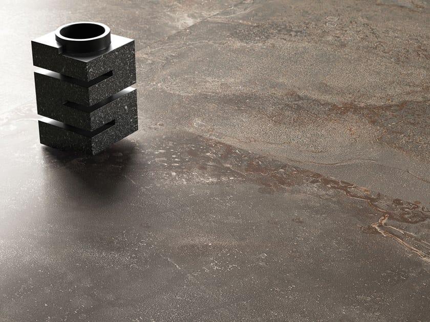 Pavimento/rivestimento in gres porcellanato OXIDART IRON by CERAMICA SANT'AGOSTINO