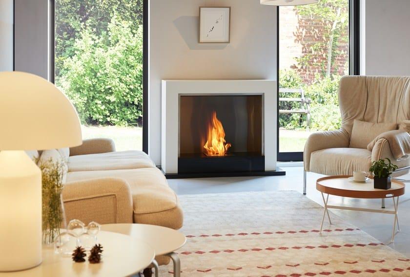 Freestanding bioethanol fireplace OXYGEN by EcoSmart Fire