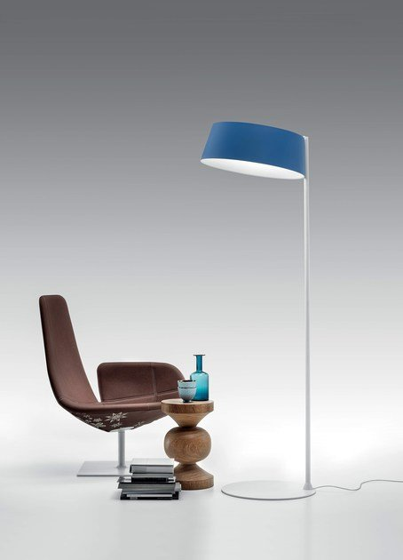 Led direct light floor lamp oxygen fl2 by linea light group