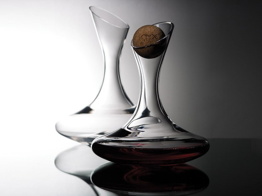 Decanter in cristallo OXYGEN by NUDE