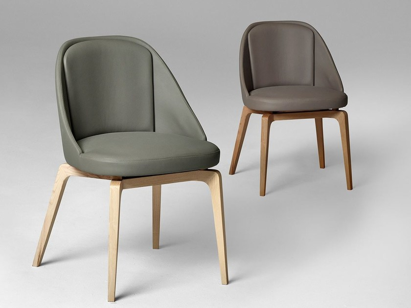 Leather chair OYSTER by ALIVAR