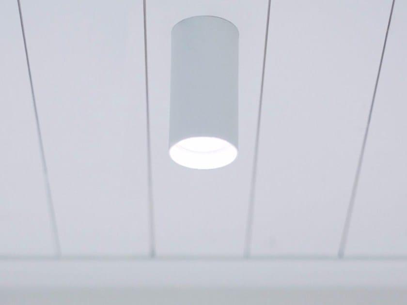 Metal ceiling lamp OZEN S by DAVIDE GROPPI