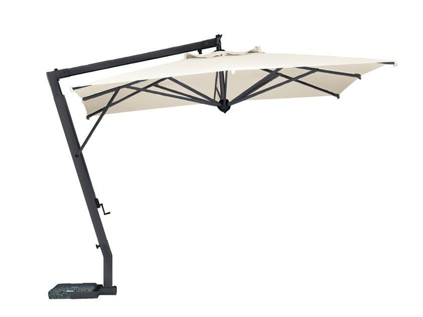 Offset aluminium Garden umbrella Aluminium Garden umbrella by Il Giardino di Legno