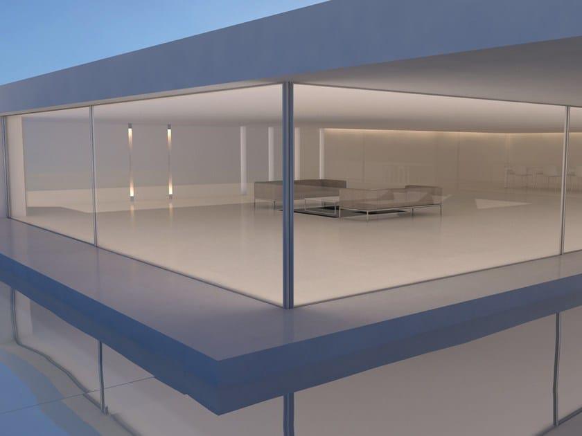 Aluminium open corner sliding system Open corner sliding system by OTIIMA