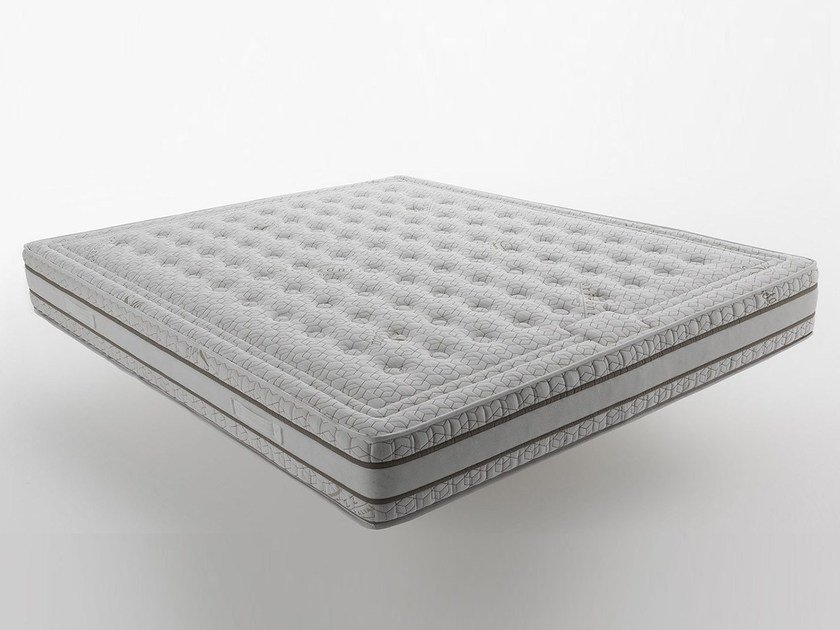 Anti-allergy anti-bacterial washable synthetic material mattress Orizzonti - Eco Waterlily by horm