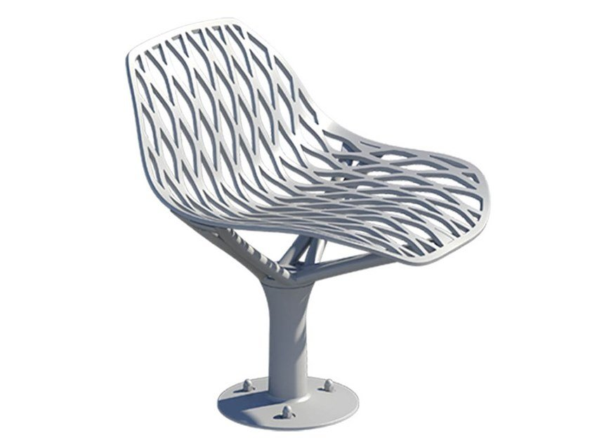 Metal outdoor chair KEA | Outdoor chair by GHM-ECLATEC