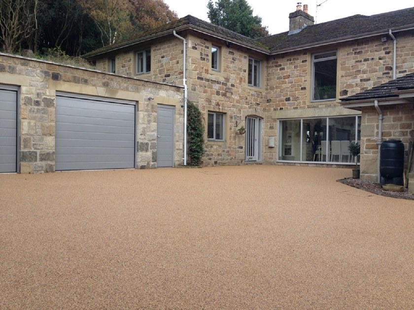 Permeable resin bound paving DIY & TRADEPACK by SureSet