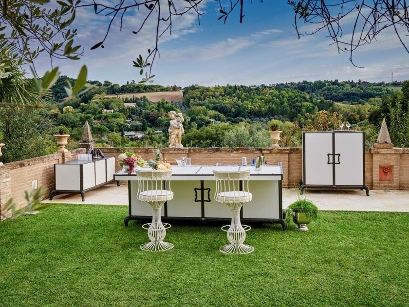 Outdoor kitchen Outdoor kitchen by Samuele Mazza by DFN