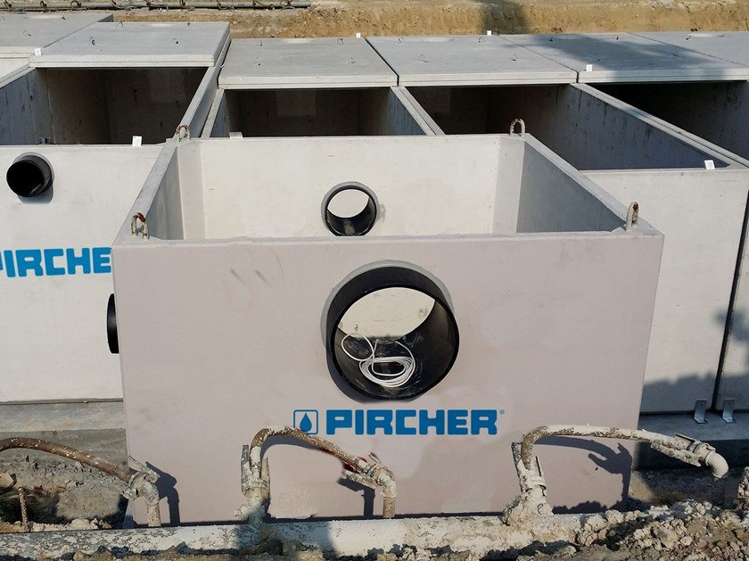 Concrete Pit for drainage system P.R. | Discharge / retention tank by Pircher