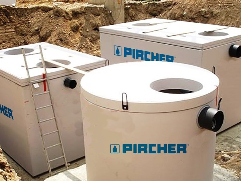 Pit for drainage system P.R. | Throttle trank by Pircher