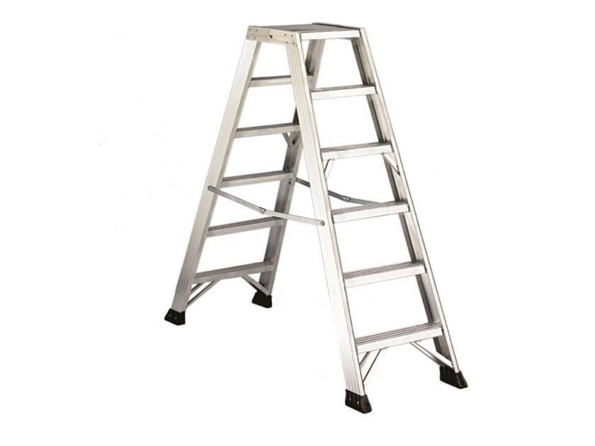 Aluminium heavy duty ladder P1 PLUS by SVELT