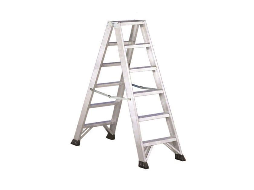 Aluminium heavy duty ladder P1 by SVELT