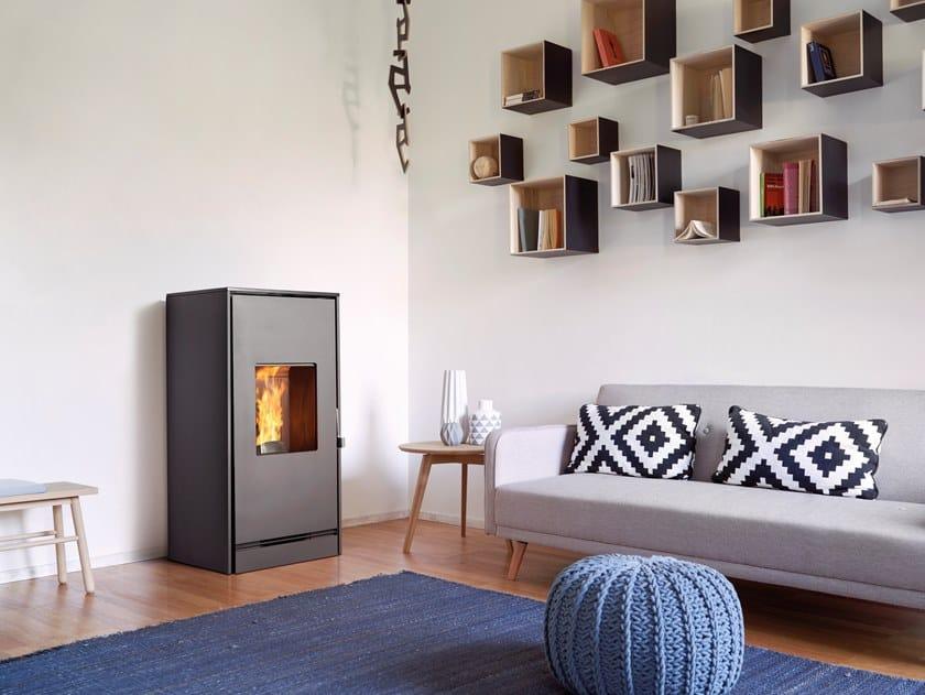 Pellet stove P163 M | Pellet stove by Piazzetta