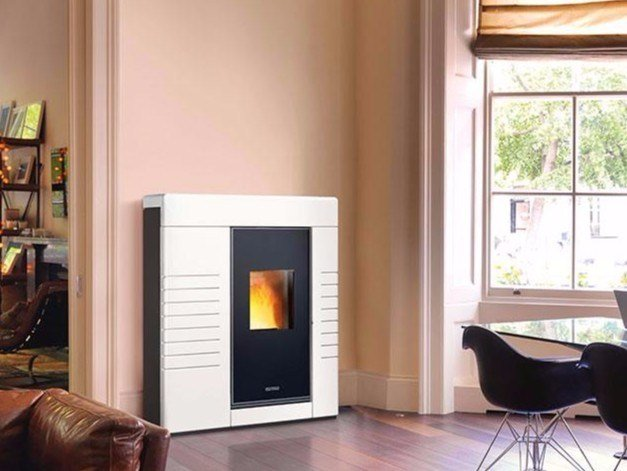 Pellet stove P934 by Piazzetta