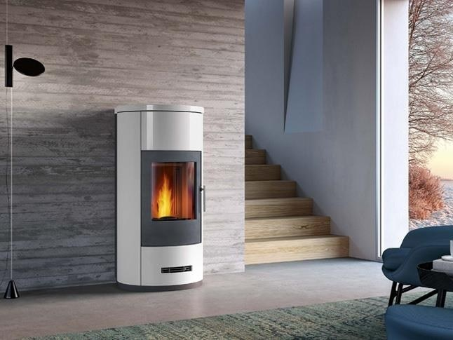 P963 T Pellet Stove By Piazzetta