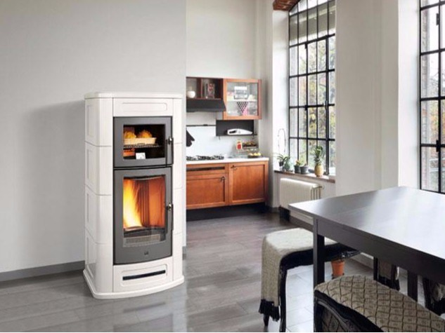 Pellet stove P967 F by Piazzetta