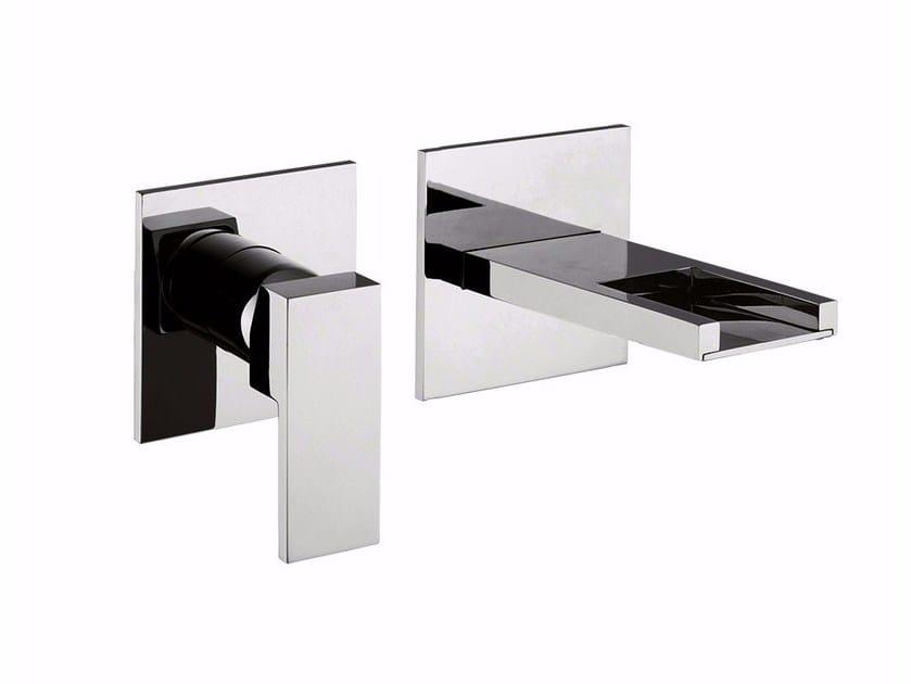 2 hole wall-mounted washbasin mixer PABLOLUX - F9820-B1 by Rubinetteria Giulini