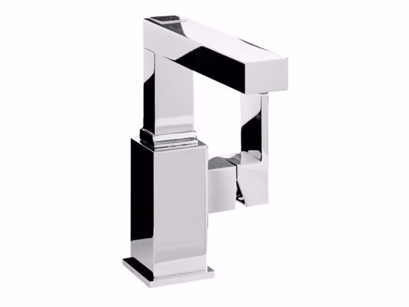Countertop single handle 1 hole washbasin mixer PABLOLUX - F9827A-B2 by Rubinetteria Giulini
