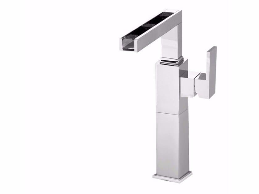 Countertop washbasin mixer PABLOLUX - F9828A-B1 by Rubinetteria Giulini