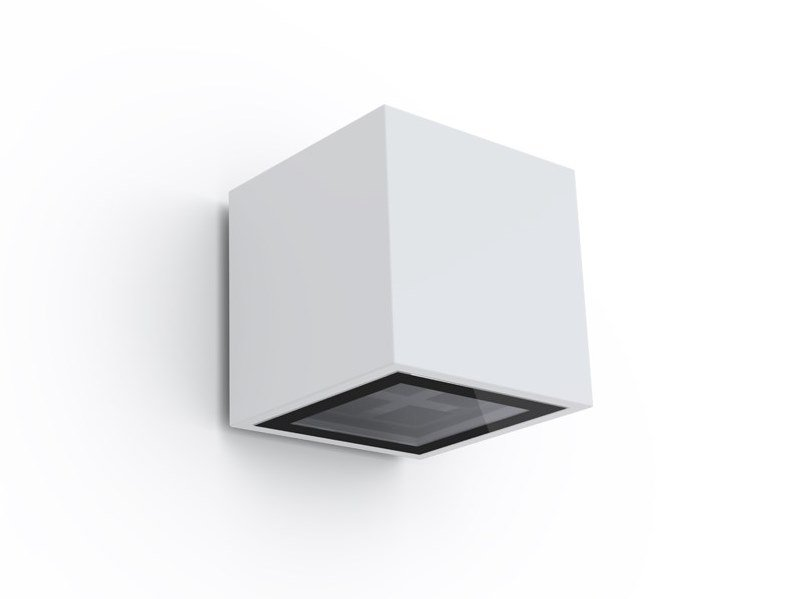 LED direct light thermo lacquered aluminium wall lamp PACK BA LED by Exporlux