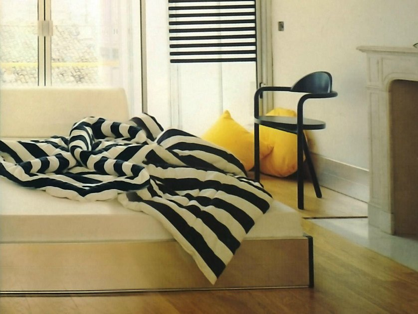 Double bed with upholstered headboard PACK | Double bed by IFT