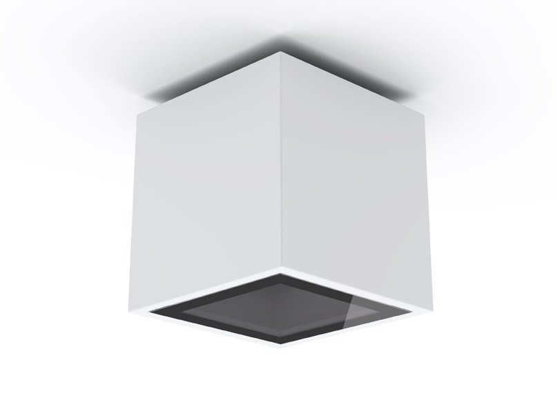 Contemporary style LED aluminium ceiling lamp PACK TE LED by Exporlux