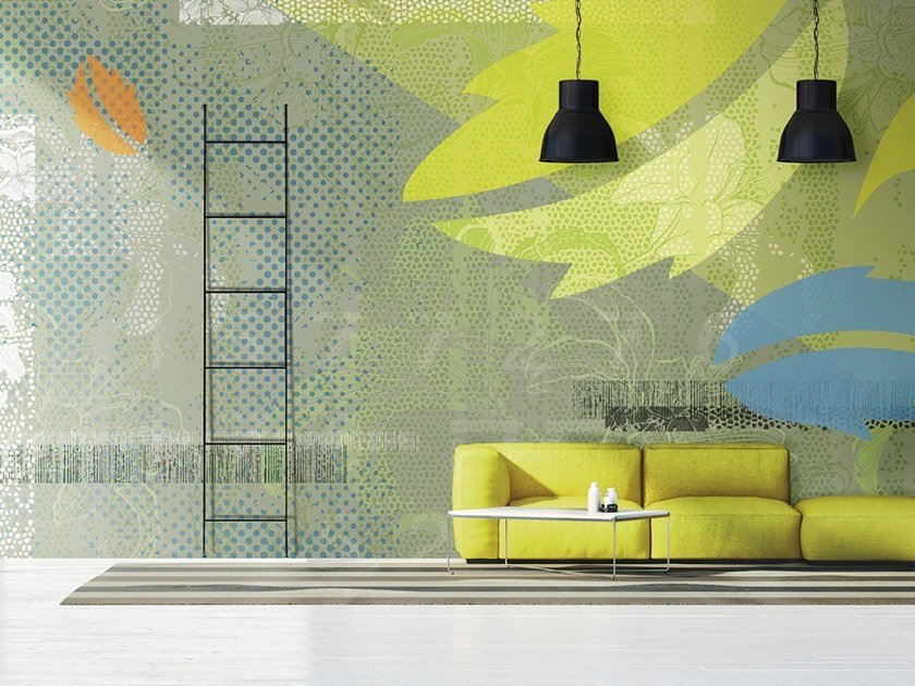 Carta da parati in vinile o fibra di vetro PAESAGGIO NATURALE by N.O.W. Edizioni