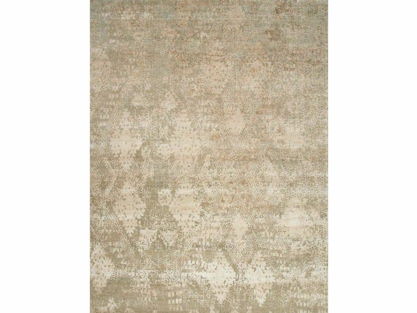 Patterned rug PAHELI ESK-662 Linen/White Sand by Jaipur Rugs