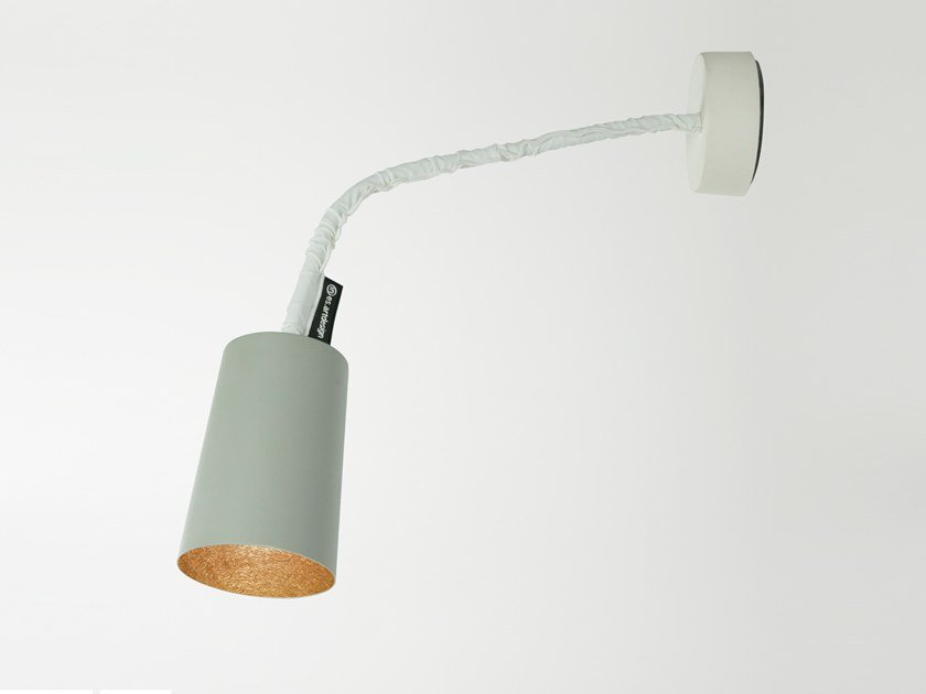 Adjustable wall lamp PAINT A CEMENTO by In-es.artdesign