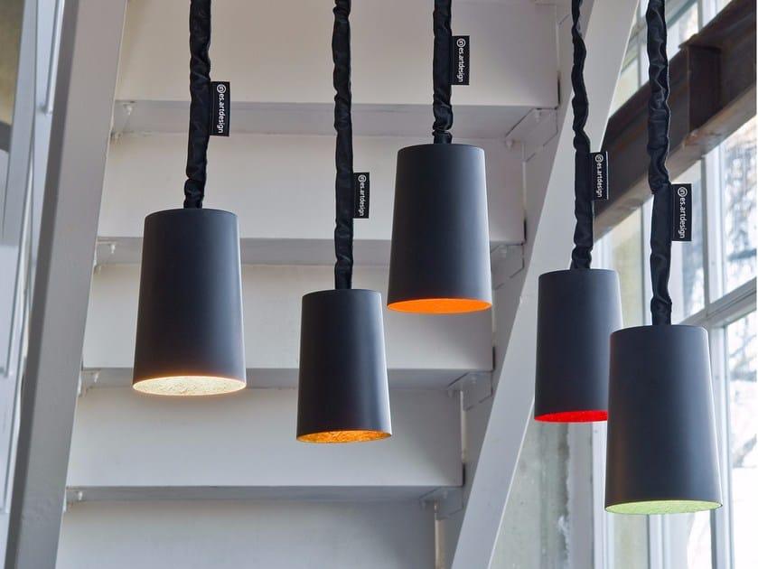 Resin pendant lamp PAINT LAVAGNA | Pendant lamp by In-es.artdesign