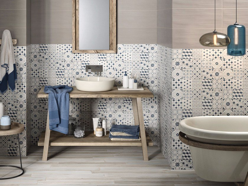 White-paste wall tiles PAINT by MARAZZI