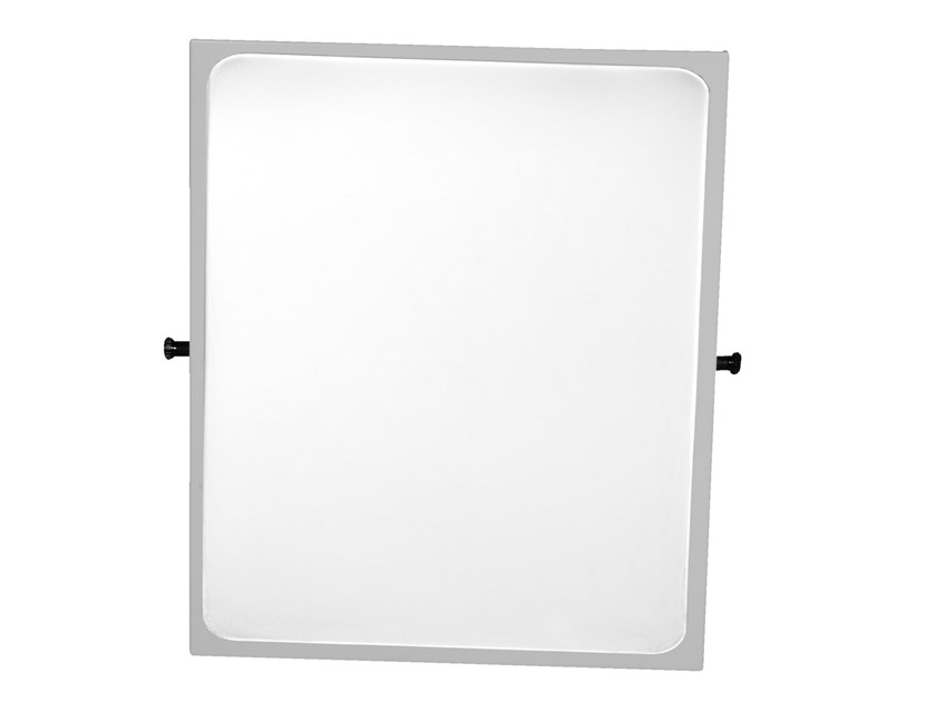 Tilting framed bathroom mirror PAINT | Mirror by Ponte Giulio