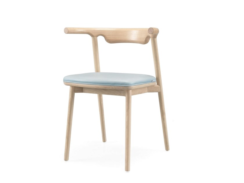 Wooden chair with armrests PALA by Wewood