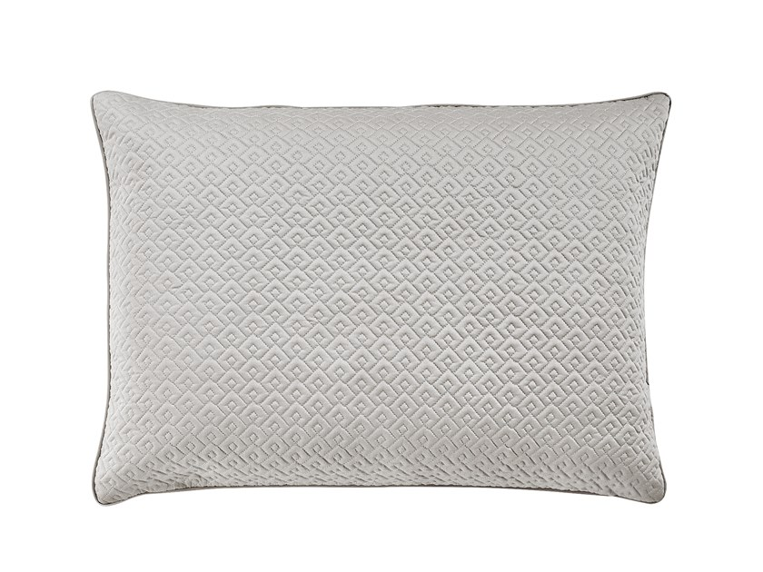 Cotton pillow case with graphic pattern PALACE | Pillow case by Alexandre Turpault